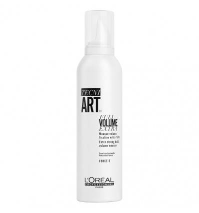 Mousse Full Volume Extra Tecni Art l'Oréal Professionnel 250 ml