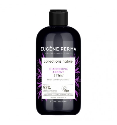 Shampooing Argent À l'Iris Bio Collections Nature Eugene Perma 300 ml