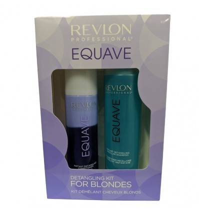 Equave Duo Pack Cheveux Blonds Revlon