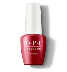 Vernis GelColor Red Hot Rio OPI