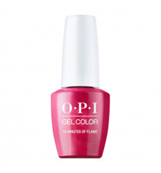 Vernis GelColor 15 Minutes Of Flame OPI 15ml