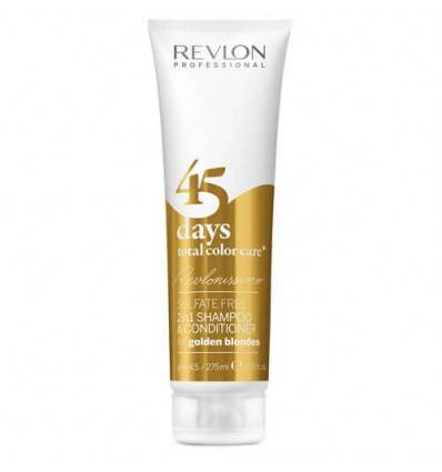 Shampooing Conditionneur 2en1 Golden Blondes Revlon 275ml
