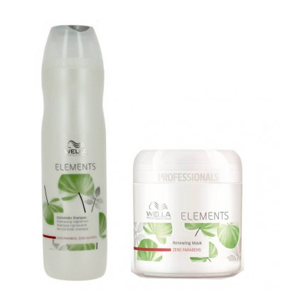 Duo Shampooing Et Masque Elements Wella
