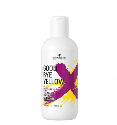 Shampoing Neutralisant GoodBye Yellow Schwarzkopf 300 ml