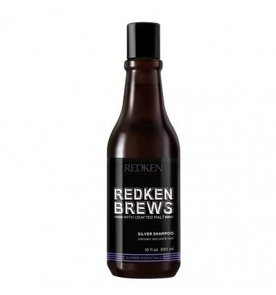Shampoing Silver Charge Brews Redken 300 ml