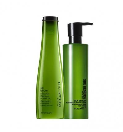 Duo Shampooing et Conditioner Silk Bloom Shu Uemura