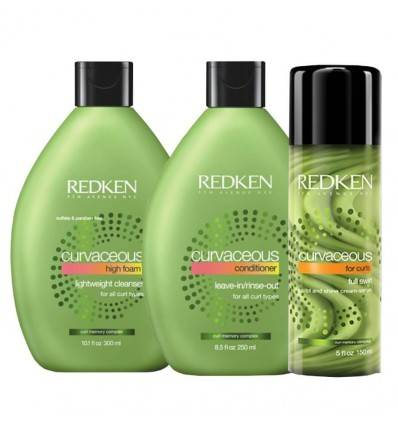 Pack Full Swirl Curvaceous Redken