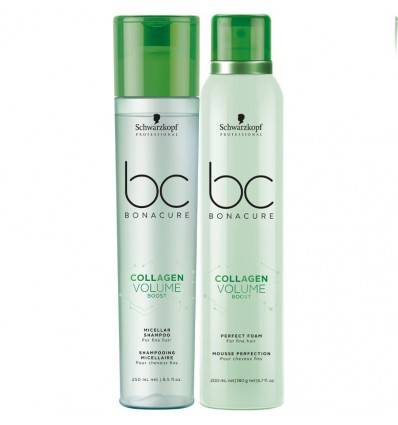 Duo Shampooing Et Mousse Perfection Collagen Volume Boost Schwarzkopf