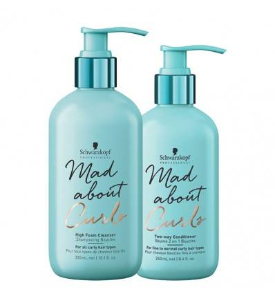 Duo Shampoing Et Baume Mad About Curls Schwarzkopf