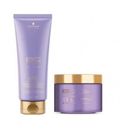 Duo Shampooing Et Masque Barbary Fig Oil Schwarzkopf